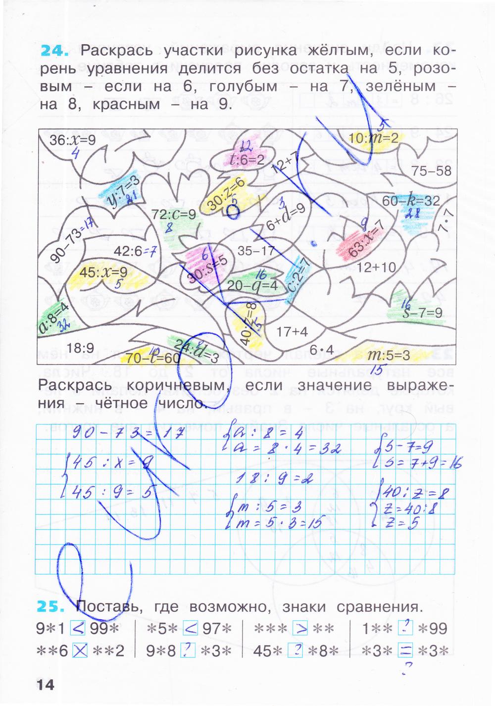 Решение задач за 3 класс по бененсону решение задач на дигибридное скрещивание по биологии